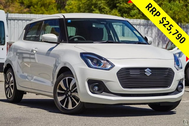 New Suzuki Swift AZ GLX Turbo, 2019 Suzuki Swift AZ GLX Turbo Pure White 6 Speed Sports Automatic Hatchback