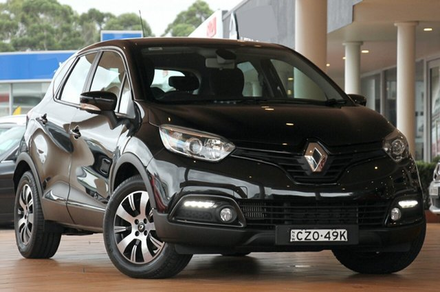 Used Renault Captur J87 Expression EDC, 2014 Renault Captur J87 Expression EDC Black 6 Speed Sports Automatic Dual Clutch SUV