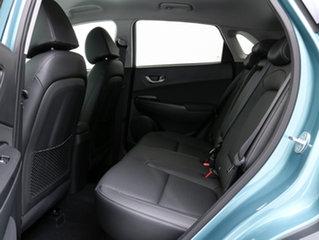 2018 Hyundai Kona OS Highlander (AWD) Ceramic Blue 7 Speed Auto Dual Clutch Wagon