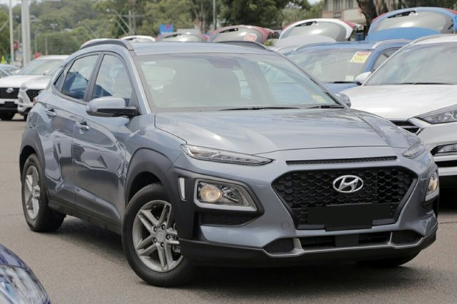 New Hyundai Kona OS.2 MY19 Active 2WD, 2018 Hyundai Kona OS.2 MY19 Active 2WD Lake Silver 6 Speed Sports Automatic Wagon