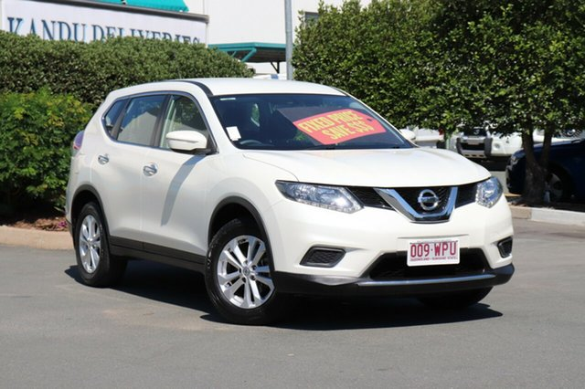 Used Nissan X-Trail T32 ST X-tronic 2WD, 2016 Nissan X-Trail T32 ST X-tronic 2WD Pearl Black 7 Speed Constant Variable Wagon