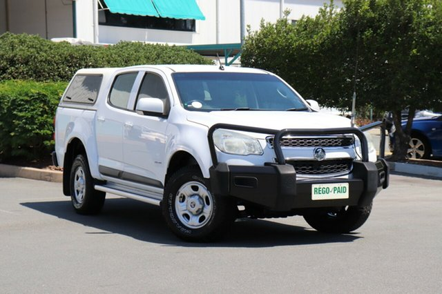 Used Holden Colorado RG MY13 LX Crew Cab 4x2, 2012 Holden Colorado RG MY13 LX Crew Cab 4x2 White 6 Speed Sports Automatic Utility