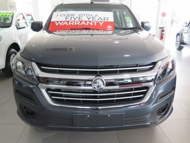 New Holden Colorado RG MY19 LS Pickup Crew Cab, 2018 Holden Colorado RG MY19 LS Pickup Crew Cab Dark Shadow Grey 6 Speed Sports Automatic Utility
