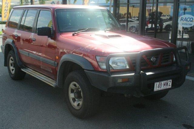 Used Nissan Patrol GU ST, 2000 Nissan Patrol GU ST Maroon 5 Speed Manual Wagon