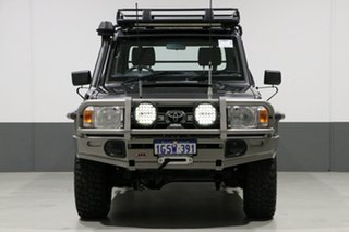 2014 Toyota Landcruiser VDJ79R MY12 Update GXL (4x4) Graphite 5 Speed Manual Cab Chassis.