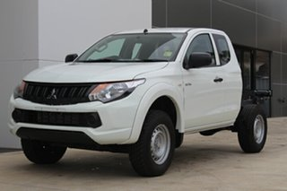 2018 Mitsubishi Triton GLX White 6 Speed Manual
