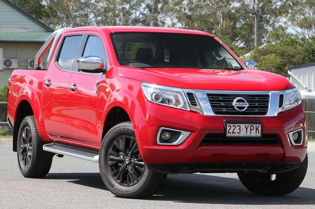 Demo Nissan Navara D23 S3 ST, 2018 Nissan Navara D23 S3 ST Burning Red 7 Speed Sports Automatic Utility