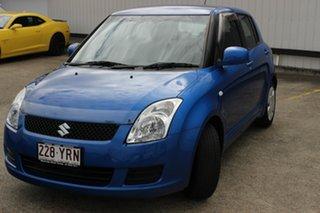 2010 Suzuki Swift RS415 GLX Blue 4 Speed Automatic Hatchback.