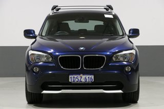 2011 BMW X1 E84 MY11 xDrive 20D Blue 6 Speed Automatic Wagon.