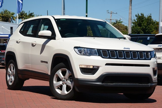 New Jeep Compass M6 MY18 Sport FWD, 2018 Jeep Compass M6 MY18 Sport FWD Vocal White 6 Speed Manual Wagon