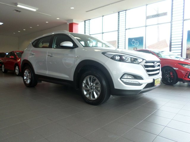 Used Hyundai Tucson TLE Active 2WD, 2016 Hyundai Tucson TLE Active 2WD Silver 6 Speed Sports Automatic Wagon