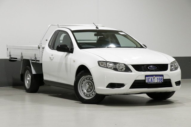 Used Ford Falcon FG , 2009 Ford Falcon FG White 5 Speed Auto Seq Sportshift Cab Chassis