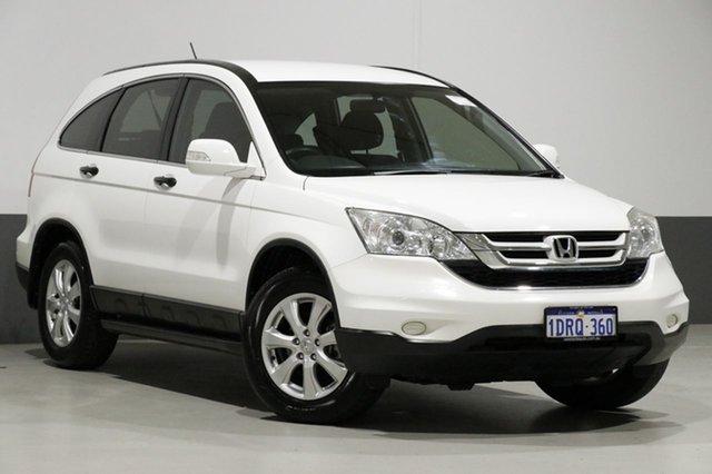 Used Honda CR-V MY11 (4x4), 2011 Honda CR-V MY11 (4x4) White 6 Speed Manual Wagon