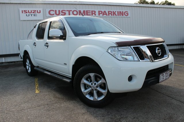 Used Nissan Navara D40 S6 MY12 ST, 2013 Nissan Navara D40 S6 MY12 ST White 6 Speed Manual Utility