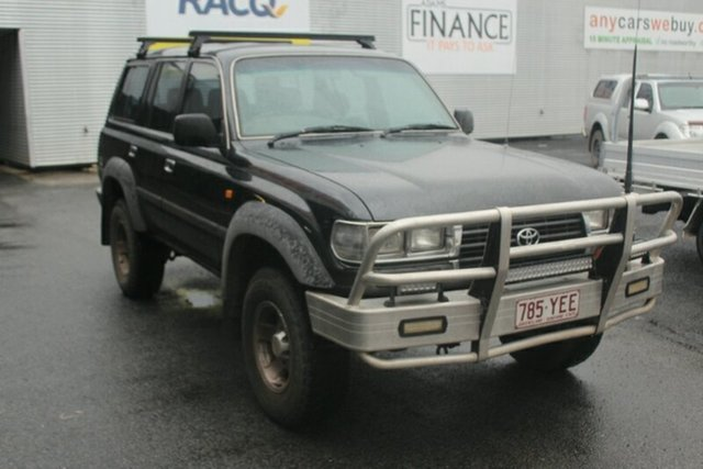 Used Toyota Landcruiser HDJ80R GXL, 1992 Toyota Landcruiser HDJ80R GXL Grey 5 Speed Manual Wagon