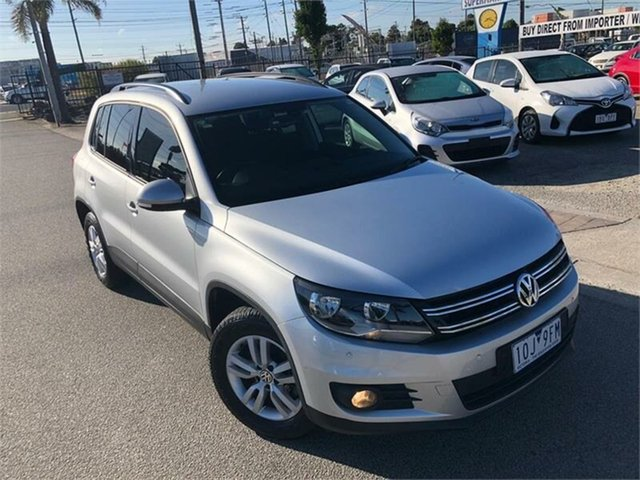 Used Volkswagen Tiguan 5N , 2013 Volkswagen Tiguan 5N 103TDI Pacific Silver Sports Automatic Dual Clutch Wagon