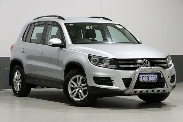 Used Volkswagen Tiguan 5NC MY15 118 TSI (4x2), 2015 Volkswagen Tiguan 5NC MY15 118 TSI (4x2) Silver 6 Speed Direct Shift Wagon