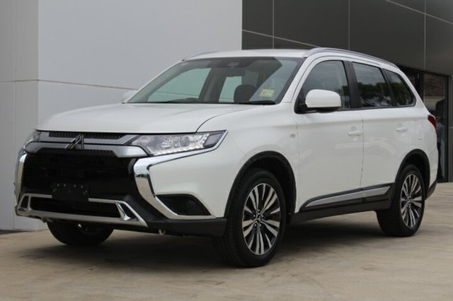 New Mitsubishi Outlander ZL MY19 ES AWD ADAS, 2018 Mitsubishi Outlander ZL MY19 ES AWD ADAS White 6 Speed Constant Variable Wagon