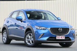 2016 Mazda CX-3 DK4W7A Maxx SKYACTIV-Drive i-ACTIV AWD Dynamic Blue 44j 6 Speed Sports Automatic.