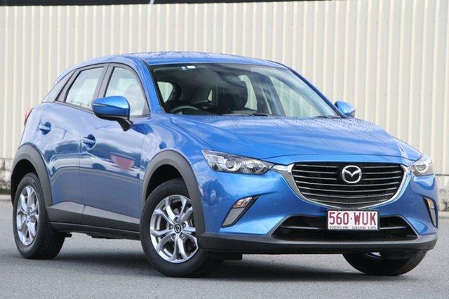 Used Mazda CX-3 DK4W7A Maxx SKYACTIV-Drive i-ACTIV AWD, 2016 Mazda CX-3 DK4W7A Maxx SKYACTIV-Drive i-ACTIV AWD Dynamic Blue 44j 6 Speed Sports Automatic