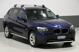2011 BMW X1 E84 MY11 xDrive 20D Blue 6 Speed Automatic Wagon
