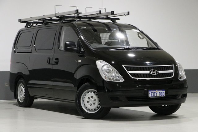 Used Hyundai iLOAD TQ MY14 , 2014 Hyundai iLOAD TQ MY14 Black 5 Speed Manual Van