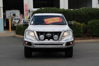 2016 Toyota Landcruiser Prado GDJ150R GX Glacier 6 Speed Sports Automatic Wagon.