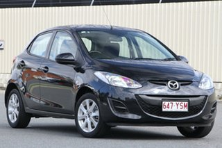 2013 Mazda 2 DE10Y2 MY14 Neo Sport Black 4 Speed Automatic Hatchback.