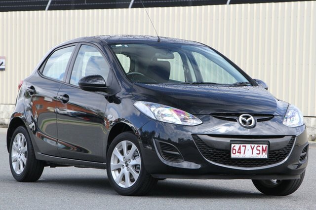 Used Mazda 2 DE10Y2 MY14 Neo Sport, 2013 Mazda 2 DE10Y2 MY14 Neo Sport Black 4 Speed Automatic Hatchback