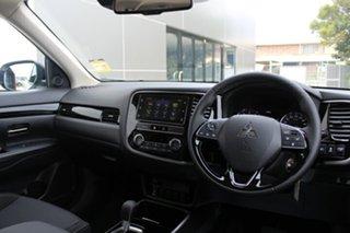 2018 Mitsubishi Outlander ZL MY19 ES ADAS White 6 Speed Continuous Variable