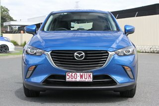 2016 Mazda CX-3 DK4W7A Maxx SKYACTIV-Drive i-ACTIV AWD Dynamic Blue 44j 6 Speed Sports Automatic