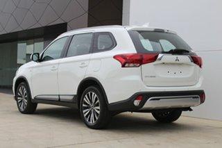 2018 Mitsubishi Outlander ZL MY19 ES ADAS White 6 Speed Continuous Variable.