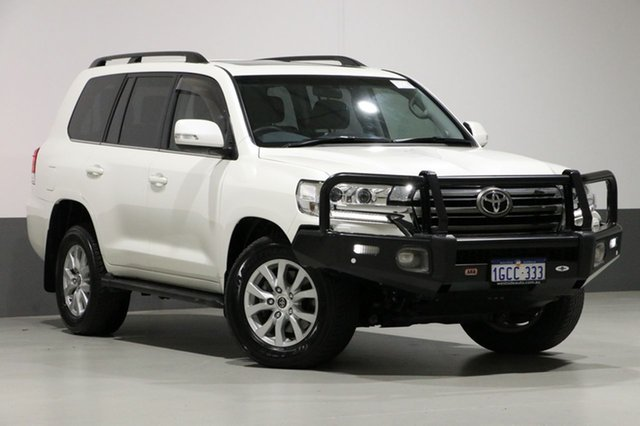 Used Toyota Landcruiser VDJ200R MY16 VX (4x4), 2016 Toyota Landcruiser VDJ200R MY16 VX (4x4) White 6 Speed Automatic Wagon