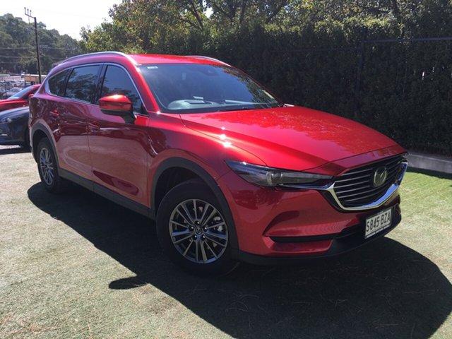 Demo Mazda CX-8 KG2W2A Sport SKYACTIV-Drive FWD, 2018 Mazda CX-8 KG2W2A Sport SKYACTIV-Drive FWD Soul Red 6 Speed Sports Automatic Wagon