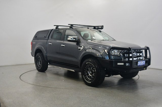 Used Ford Ranger PX MkII XLT Double Cab, 2015 Ford Ranger PX MkII XLT Double Cab Grey 6 Speed Manual Utility