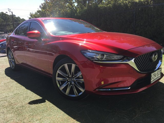 Demo Mazda 6 GL1032 Atenza SKYACTIV-Drive, 2018 Mazda 6 GL1032 Atenza SKYACTIV-Drive Soul Red 6 Speed Sports Automatic Sedan