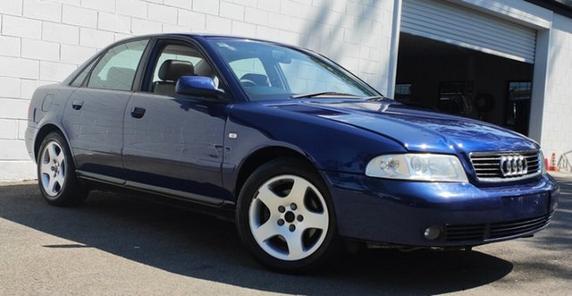 Used Audi A4 B5 MY99 , 1999 Audi A4 B5 MY99 Metallic Blue 4 Speed Automatic Sedan