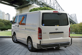 2015 Toyota HiAce TRH201R LWB White 5 Speed Manual Van
