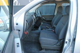 2010 Nissan Navara D40 ST Clean Silver 6 Speed Manual Utility