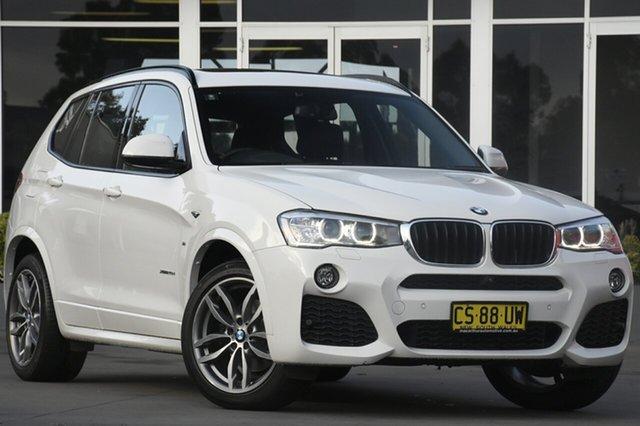 Used BMW X3 F25 LCI MY0414 xDrive20d Steptronic, 2015 BMW X3 F25 LCI MY0414 xDrive20d Steptronic White 8 Speed Automatic SUV
