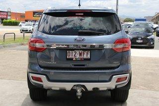 2015 Ford Everest UA Titanium 4WD Blue Reflex 6 Speed Sports Automatic Wagon