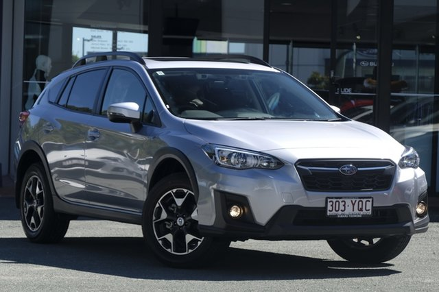 Demo Subaru XV G5X MY18 2.0i Premium Lineartronic AWD, 2018 Subaru XV G5X MY18 2.0i Premium Lineartronic AWD Ice Silver 7 Speed Constant Variable Wagon