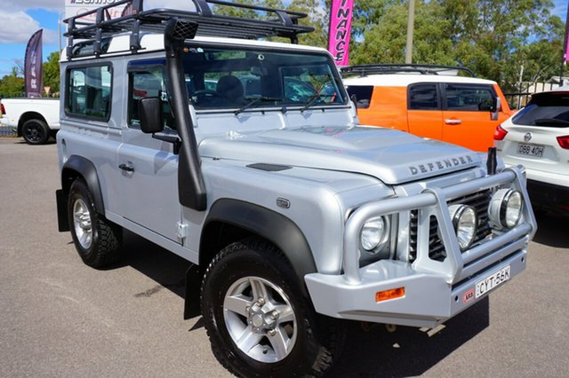 Used Land Rover Defender 90 15MY , 2015 Land Rover Defender 90 15MY Grey 6 Speed Manual Wagon