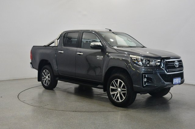 Used Toyota Hilux GUN126R SR5 Double Cab, 2018 Toyota Hilux GUN126R SR5 Double Cab Gun Metal 6 Speed Sports Automatic Utility