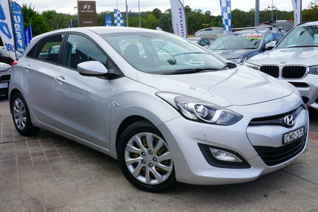 Used Hyundai i30 GD Active, 2012 Hyundai i30 GD Active Silver 6 Speed Sports Automatic Hatchback