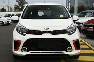 2019 Kia Picanto JA MY19 GT Clear White 5 Speed Manual Hatchback