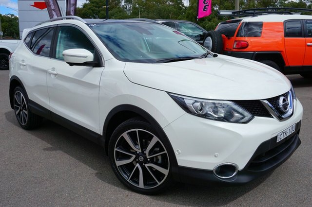 Used Nissan Qashqai J11 TL, 2014 Nissan Qashqai J11 TL Snow Storm 1 Speed Constant Variable Wagon