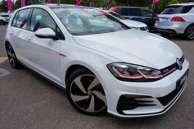 Used Volkswagen Golf 7.5 MY18 GTI DSG, 2018 Volkswagen Golf 7.5 MY18 GTI DSG White 6 Speed Sports Automatic Dual Clutch Hatchback