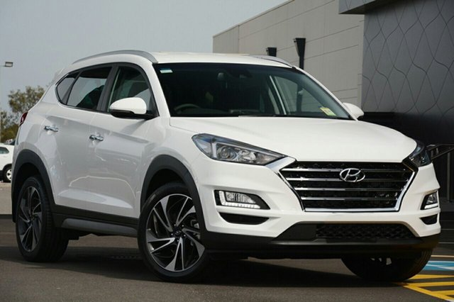 New Hyundai Tucson TLE3 MY19 Special Edition AWD, 2018 Hyundai Tucson TLE3 MY19 Special Edition AWD Polar White 8 Speed Sports Automatic Wagon