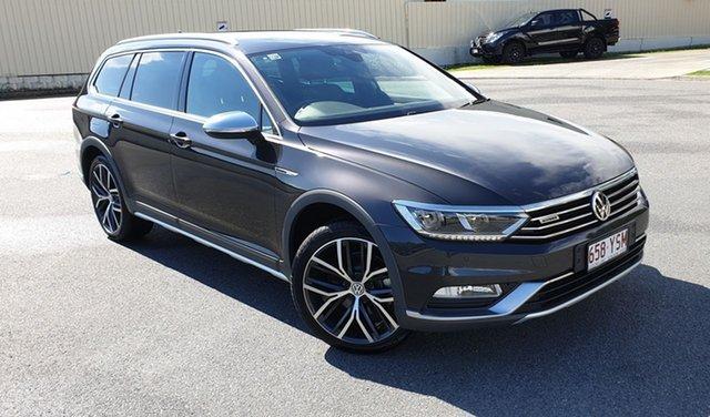 Demo Volkswagen Passat 3C (B8) MY18 Alltrack DSG 4MOTION Wolfsburg Edition, 2018 Volkswagen Passat 3C (B8) MY18 Alltrack DSG 4MOTION Wolfsburg Edition Manganese Grey 7 Speed
